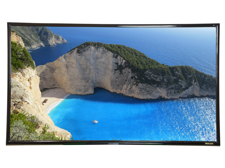 SEALOC 50CG 50 inch COASTAL GOLD Weatherproof Premium Outdoor 4K UHD Smart TV