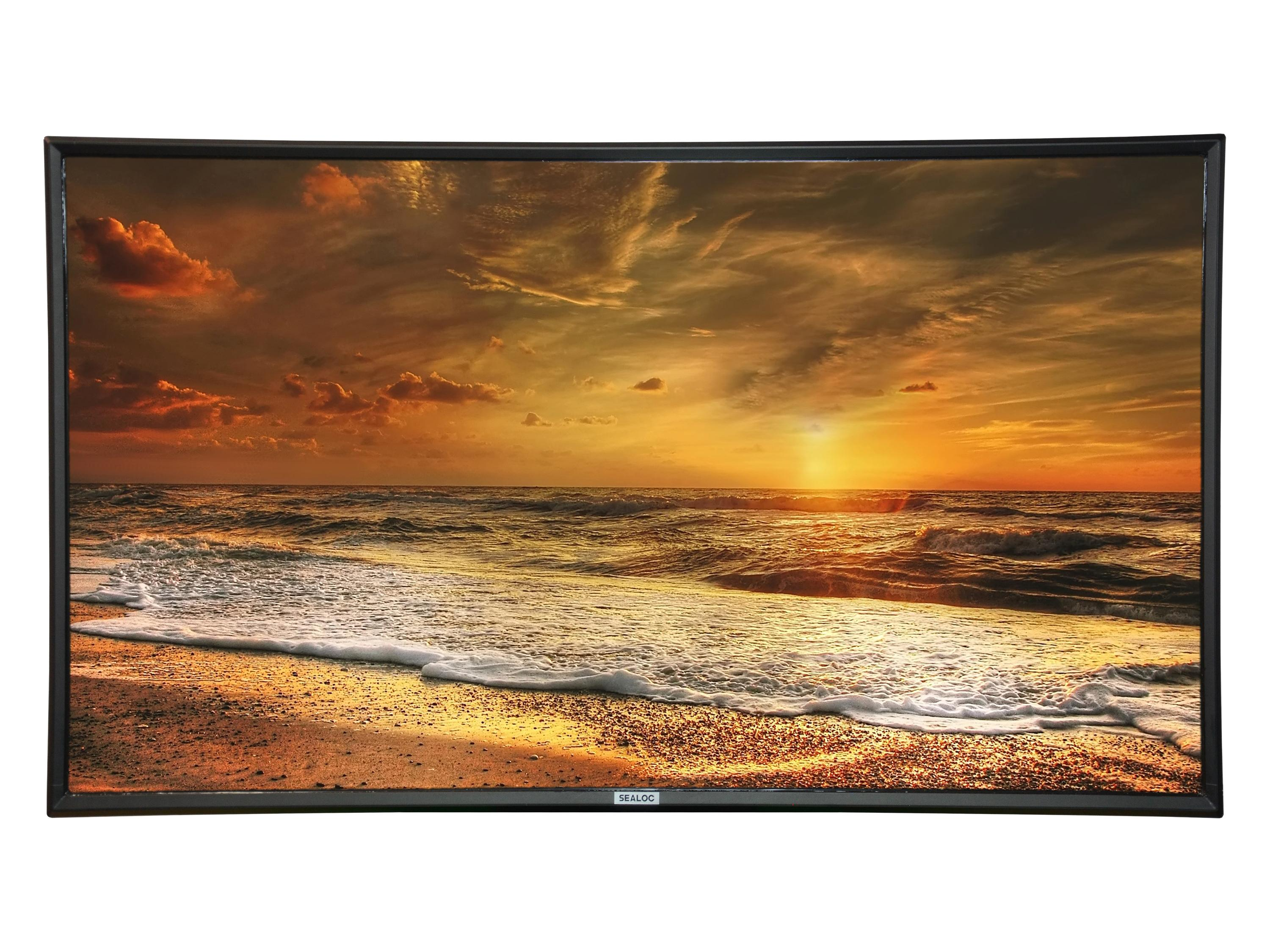 SEALOC 55CS 55 inch COASTAL SILVER Weatherproof Premium Outdoor 4K UHD Smart TV