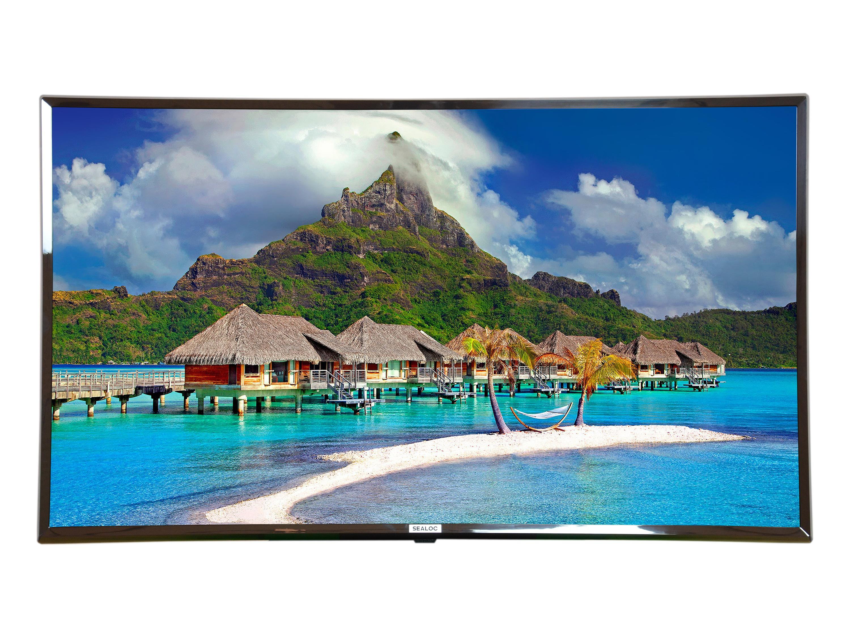 SEALOC 65LS 65 inch LANAI SILVER Weather-Resistant Premium Outdoor 4K UHD Smart TV