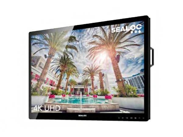 SEALOC SL2075-XB 75 inch 4k UHD SL series Outdoor Direct Sunlight Viewable LED Panel