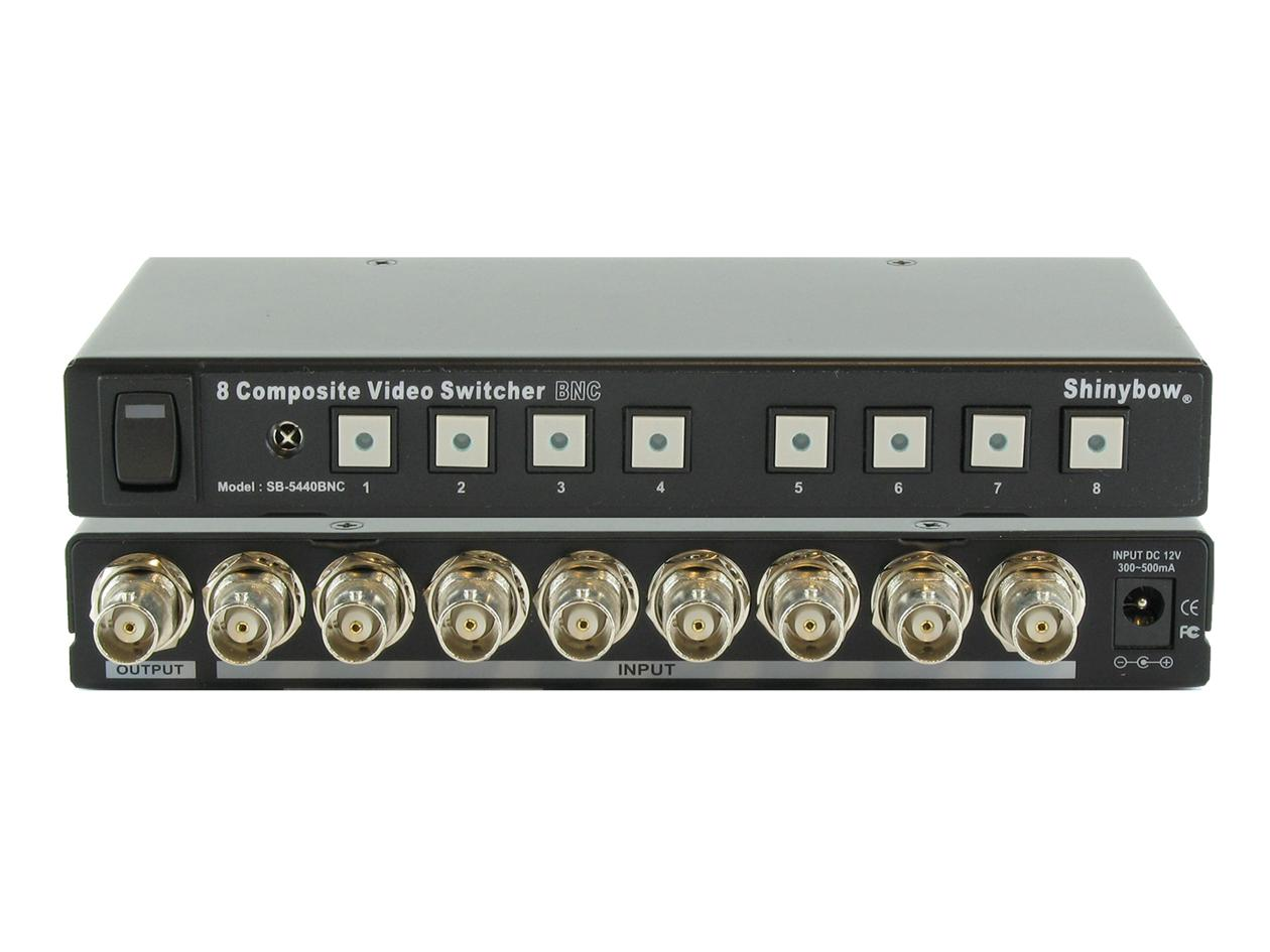 Shinybow SB-5440BNC 8x1 Composite BNC Switch