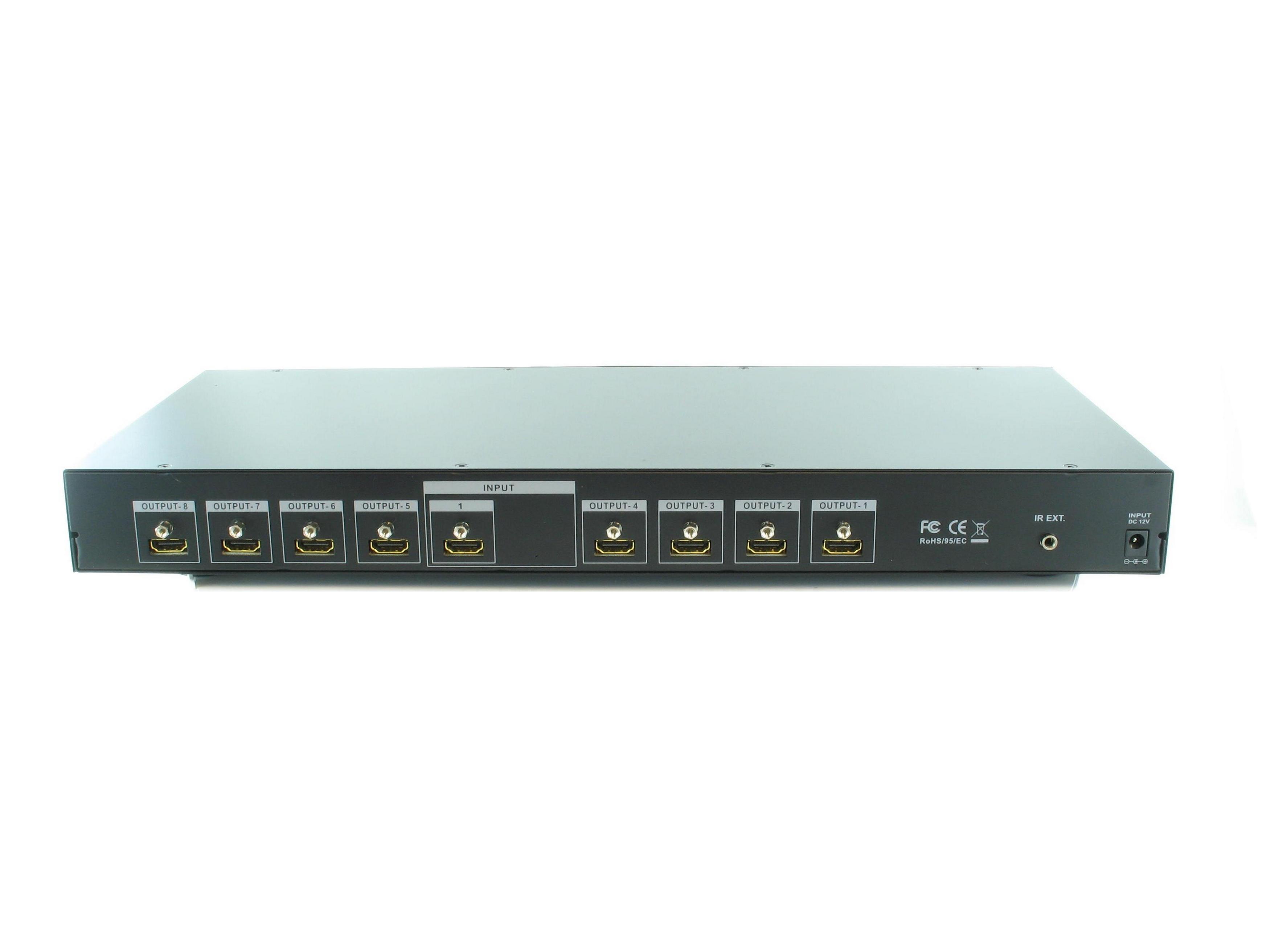 Shinybow SB-5658p 1:8 HDMI Distribution Amplifier V1.3c