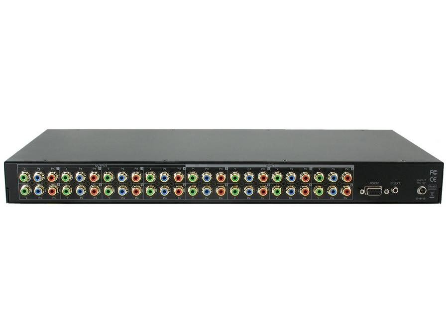 Shinybow SB-8802LCM 8x8 Component Video (w/o audio) Video Matrix Switcher