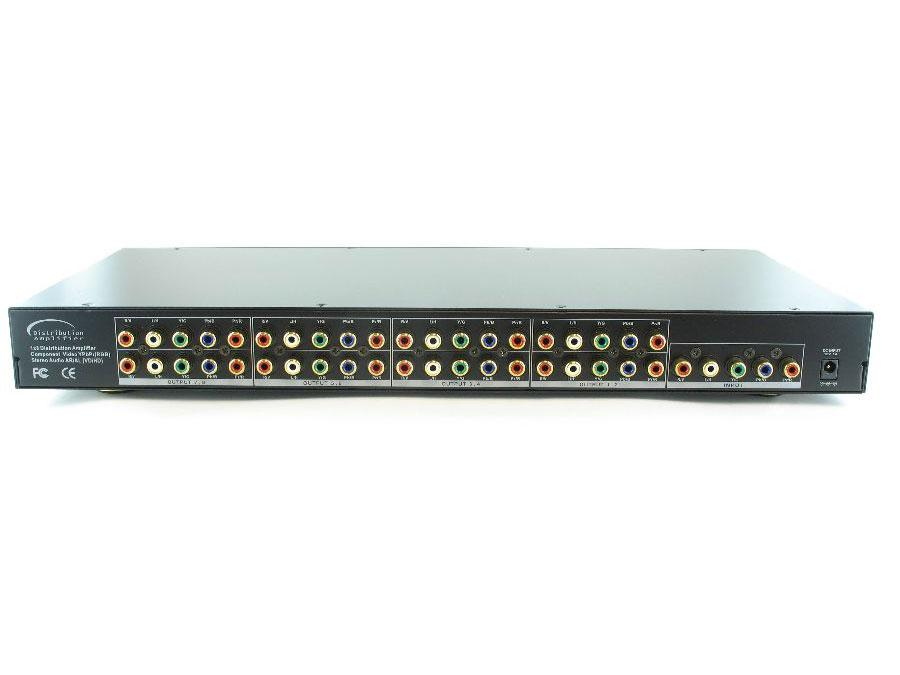 Shinybow SB-3737 1x8 Component Video/Analog Audio Amplifier Splitter