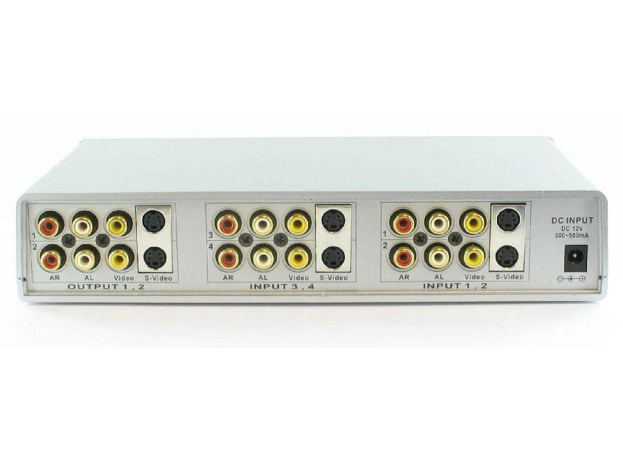 Shinybow SB-5430 4x2 Composite/S-Video/Audio Routing Switcher (IR)