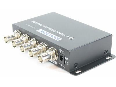 Shinybow SB-3701BNC 1x4 Composite Video Digital Distribution Amplifier