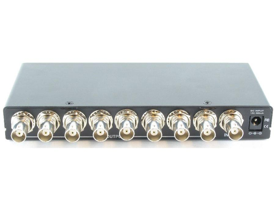Shinybow SB-3706BNC 1x8 Video(BNC) Distribution Amplifier