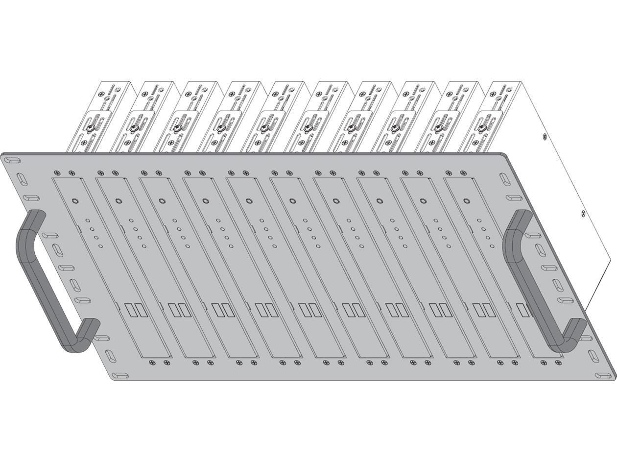 Shinybow SB-6078 Rackmount Bracket for SB-63xxT/R - 6RU