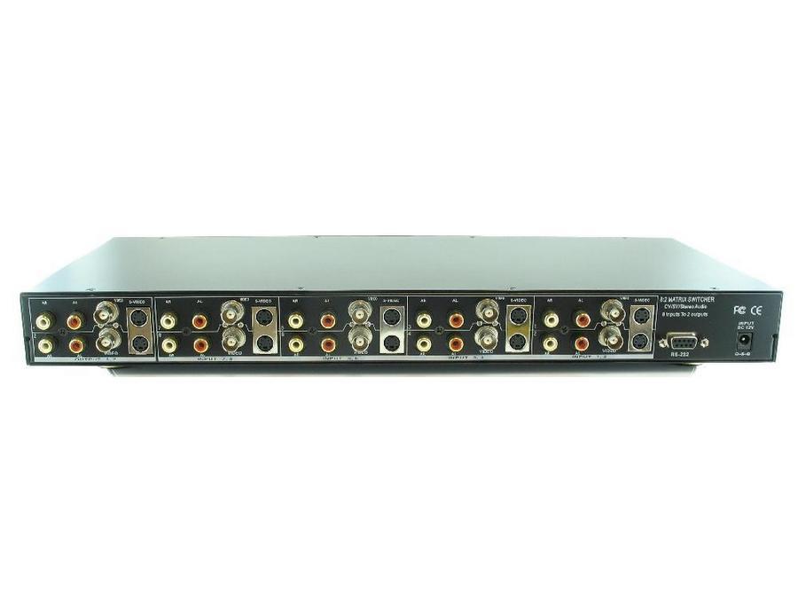 Shinybow SB-5562 8x2 Composite/SV/Audio Matrix Sw  IR RS 232
