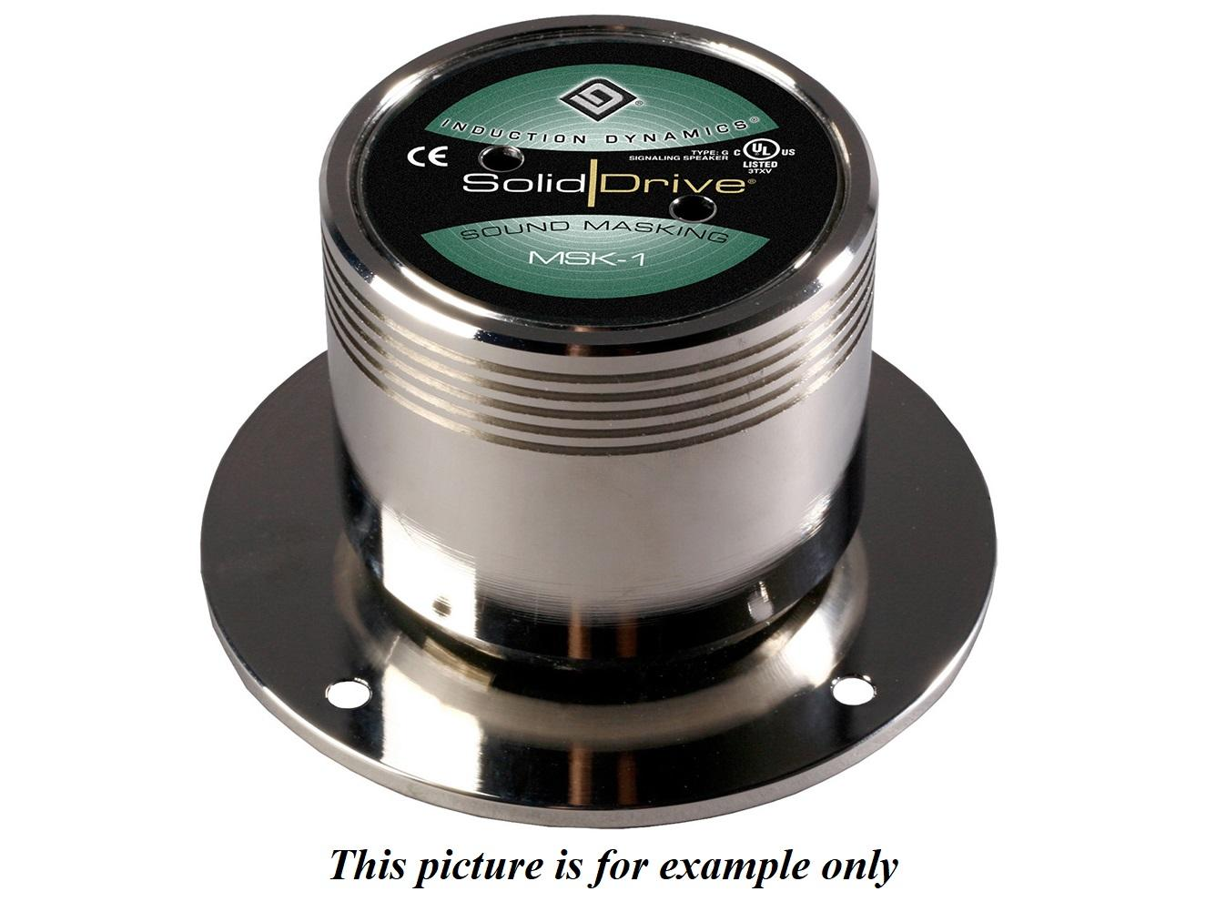 Soliddrive MSK-1G-T Sound Masking Glass 70V