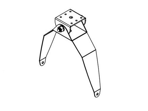 Soundtube AC-HP-SM129-BK Surface-Mount Bracket for the HP129i and HP129a/BK