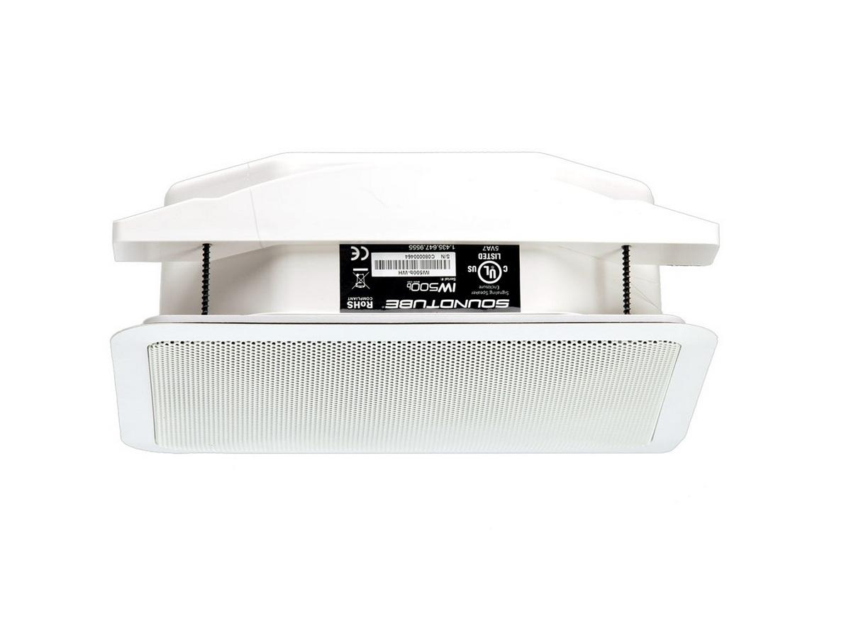 Soundtube IW500b-WH 5.25in COAXIAL IN-WALL SPEAKER WITH INTEGRATED BACKBOX/White