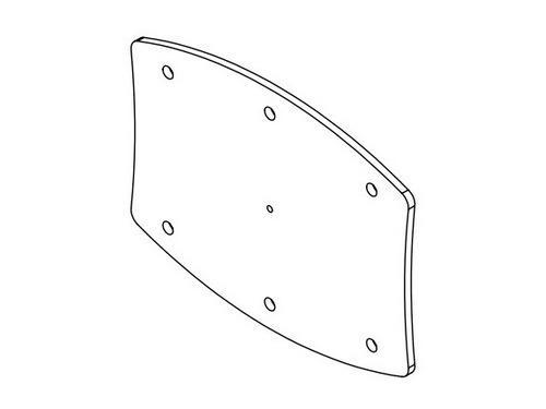 Soundtube AC-LA8-LINK-WH Side connector plates for LA8 series/White