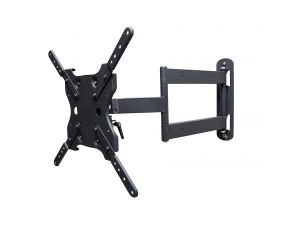 SunBriteTV SB-WM-ART1-M-BL Dual Arm Articulating Outdoor Weatherproof Mount for 42-65 inch TV Screens and Displays