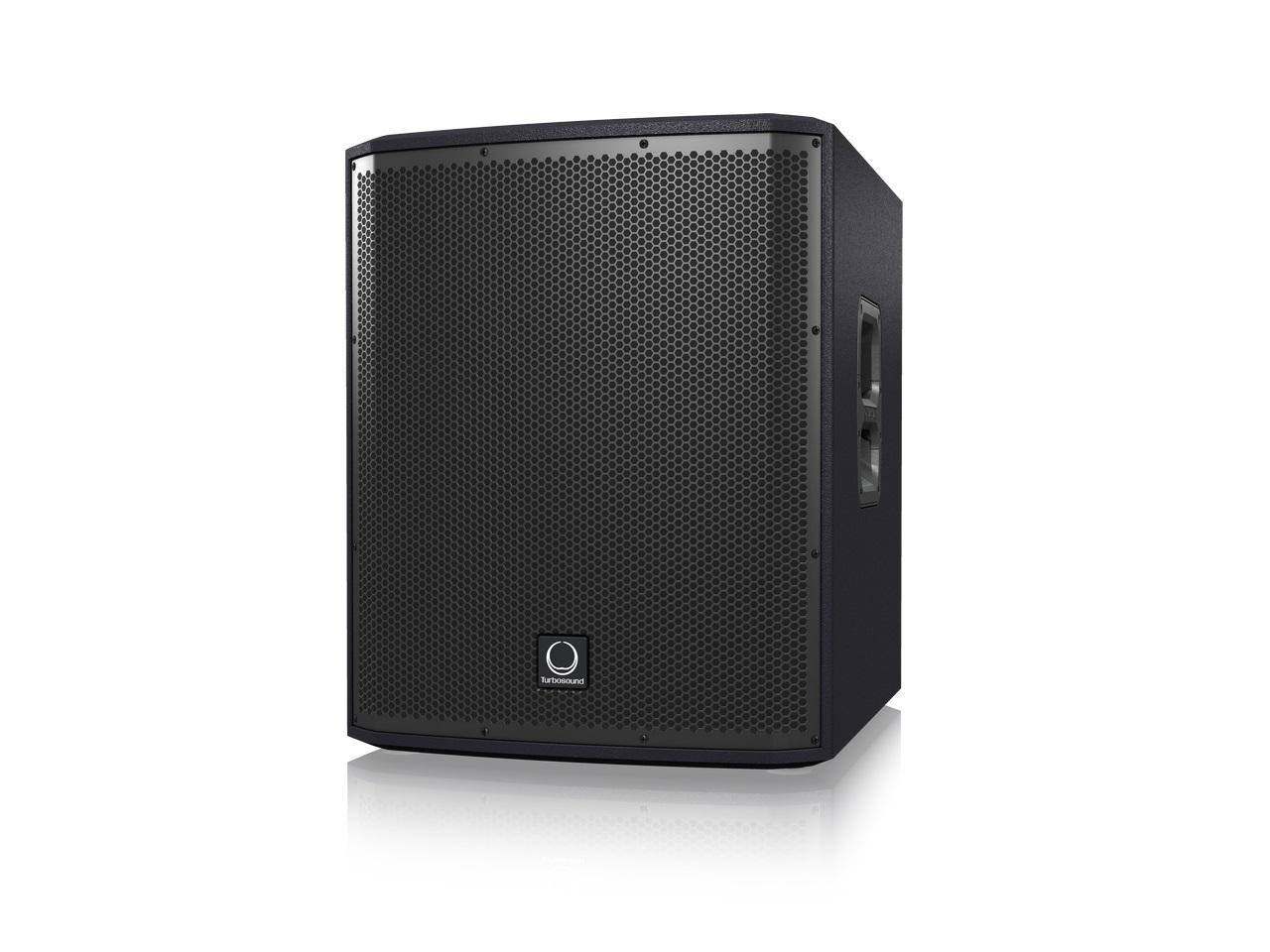 Turbosound iP15B 1000W Powered 15 inch Subwoofer with Dual Amplifiers for Satellite Speakers