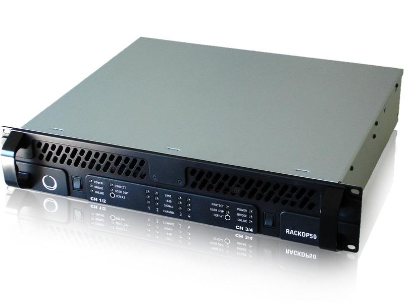 Turbosound RACKDP-50 4-Ch Class D Powered Management System with DSP and Networking