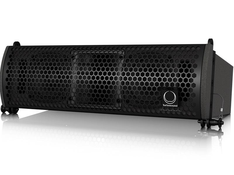 Turbosound TLX43 Compact Dual 2 Way 4 inch Line Array Element for Portable and Fixed Installation Applications