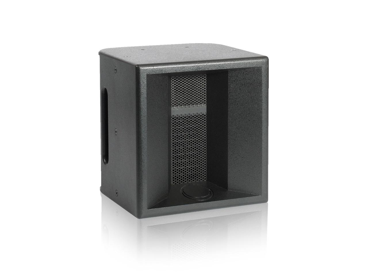 Turbosound TMS-HIGH 10 inch with 1 inch Polyhorn Black Loudspeaker for Portable Applications