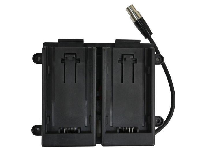TVlogic BB-056B Dual 7.4V AF-100 Battery Bracket for VFM-056WP Monitor
