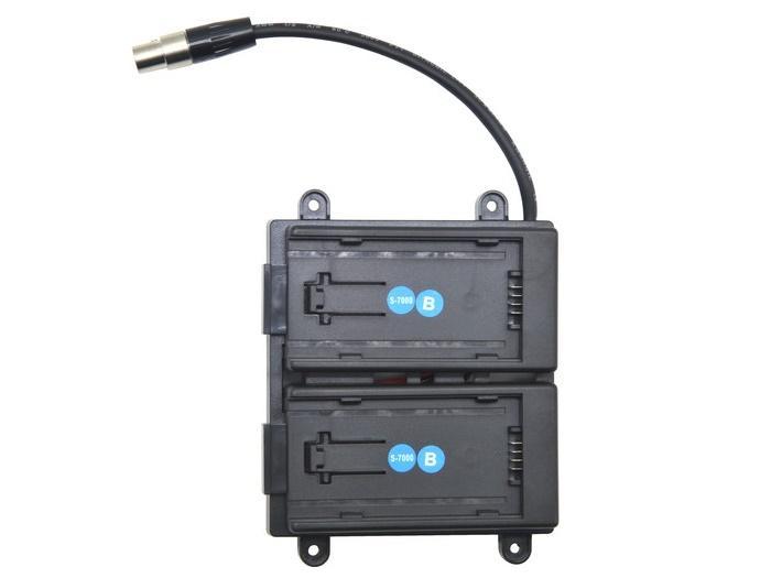 TVlogic BB-F7H-B Battery Bracket For F-7H (Panasonic AF-100)