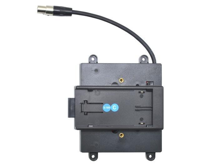 TVlogic BB-F7H-C Battery Bracket For F-7H (Canon BP Series)