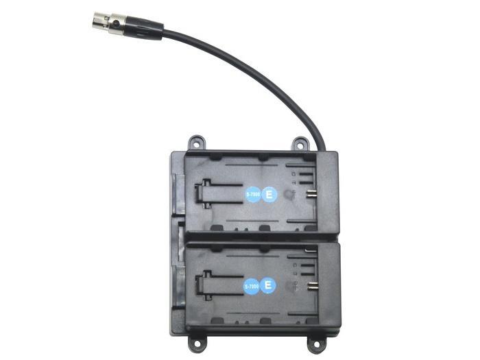 TVlogic BB-F7H-E Battery Bracket For F-7H (Canon LP-E6 Series)
