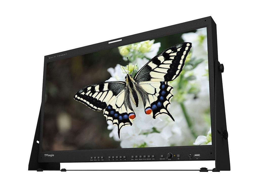 TVlogic LUM-240G 24 inch 3840 x 2160 10-Bit IPS LCD DCI-UHD Monitor