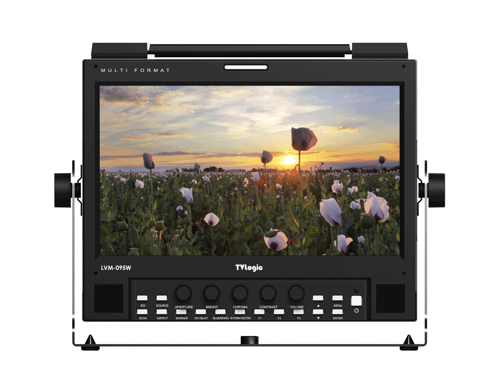 TVlogic LVM-095W-N 9 inch 1920x1080 FHD Multi-purpose 3G-SDI/HDMI LCD Production Monitor
