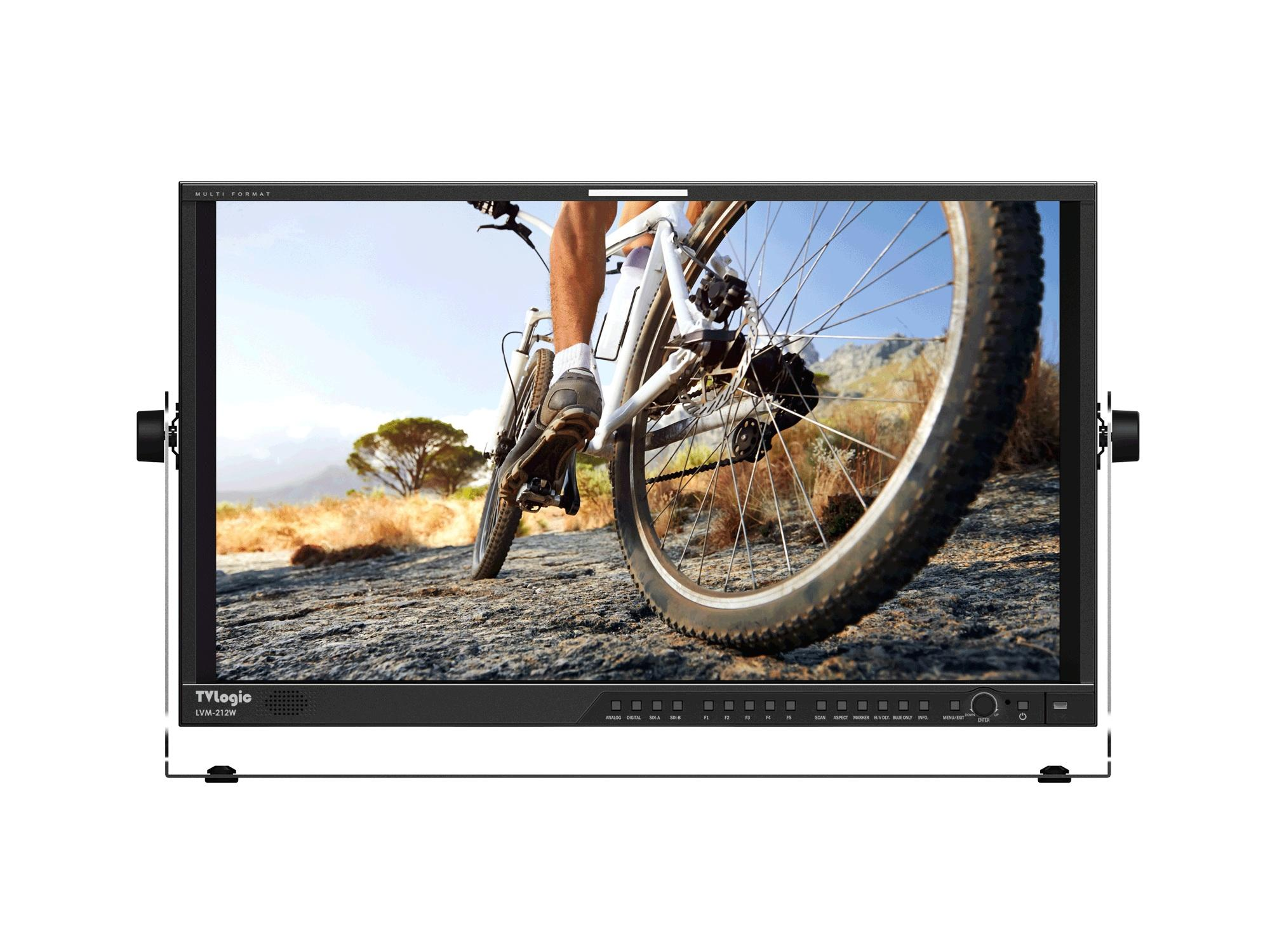 TVlogic LVM-212W(3G) 21.5 inch Composite/Component/3G-SDI/DVI/HDMI 1920x1080 19 inch Rack-size LCD Monitor