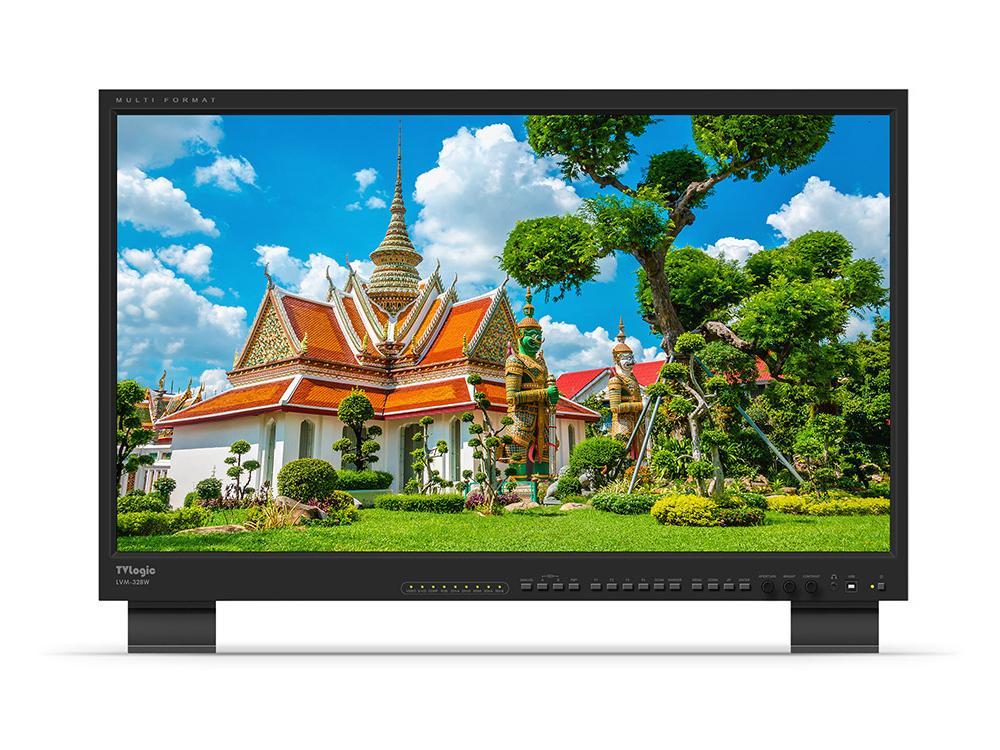 TVlogic LVM-328W 32 inch Component/3G-SDI/DVI/HDMI Native HD 1920x1080 QC-Grade LCD Monitor