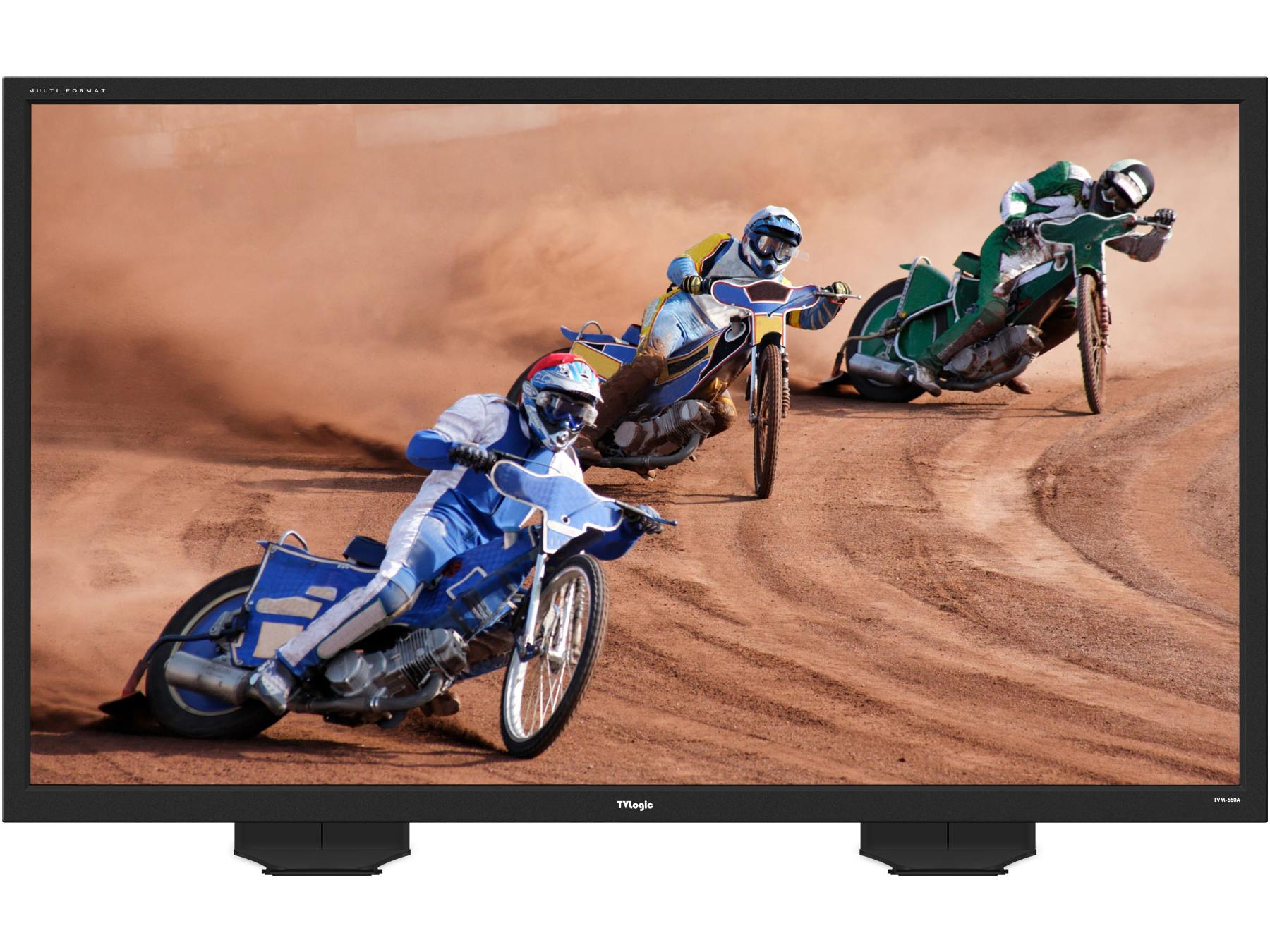 TVlogic LVM-550A 55 inch Analog/SDI/DVI/HDMI Native HD 1920x1080 QC-Grade LCD Monitor