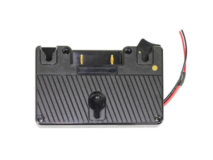 TVlogic PR-ABGOLD-074 Gold Mount Battery Bracket for LVM-070C/075A/SRM-074W Monitors
