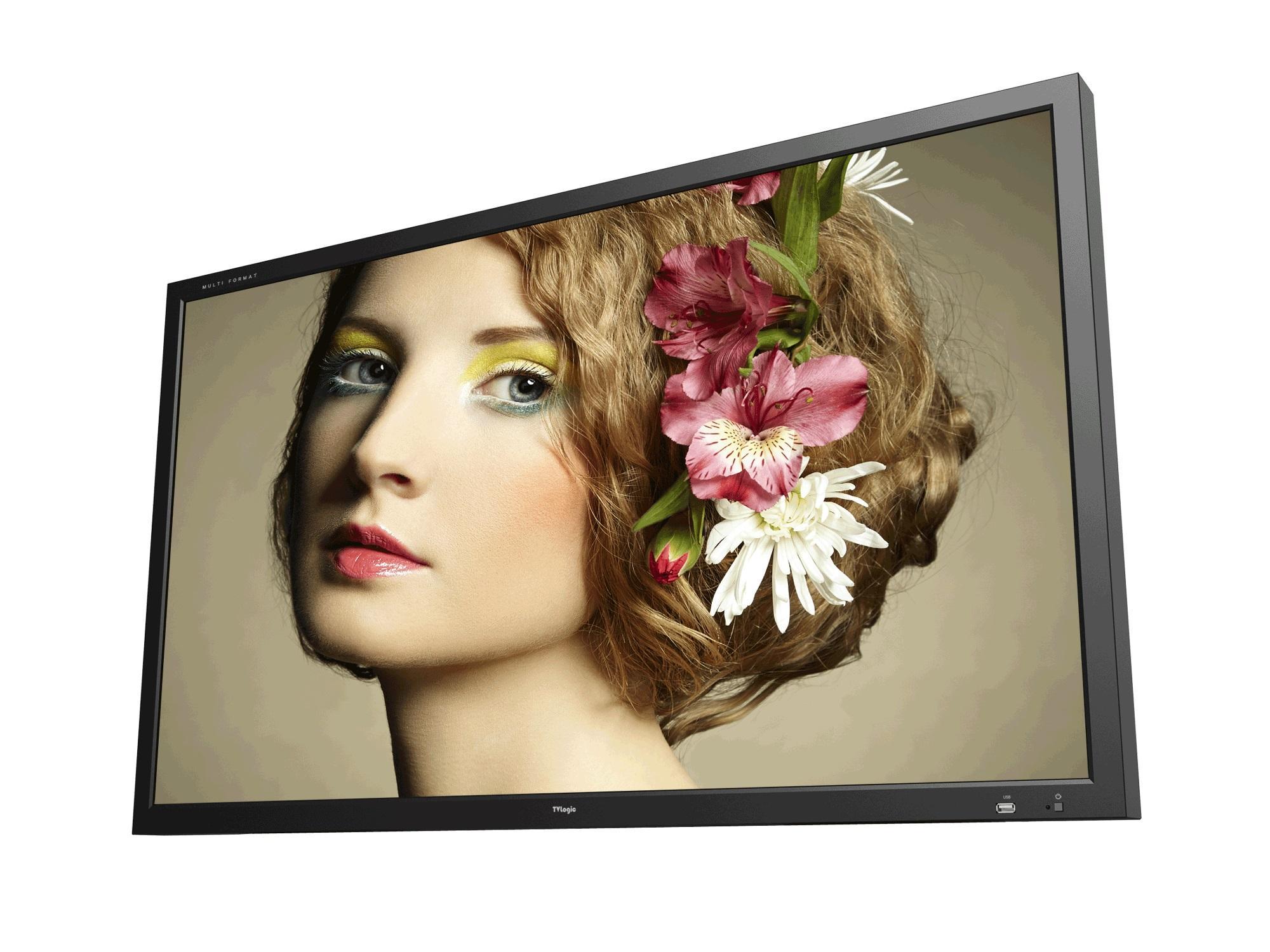 TVlogic SWM-460A 46 inch 1920x1080 (10-bit dithered) Studio Wall LCD Monitor
