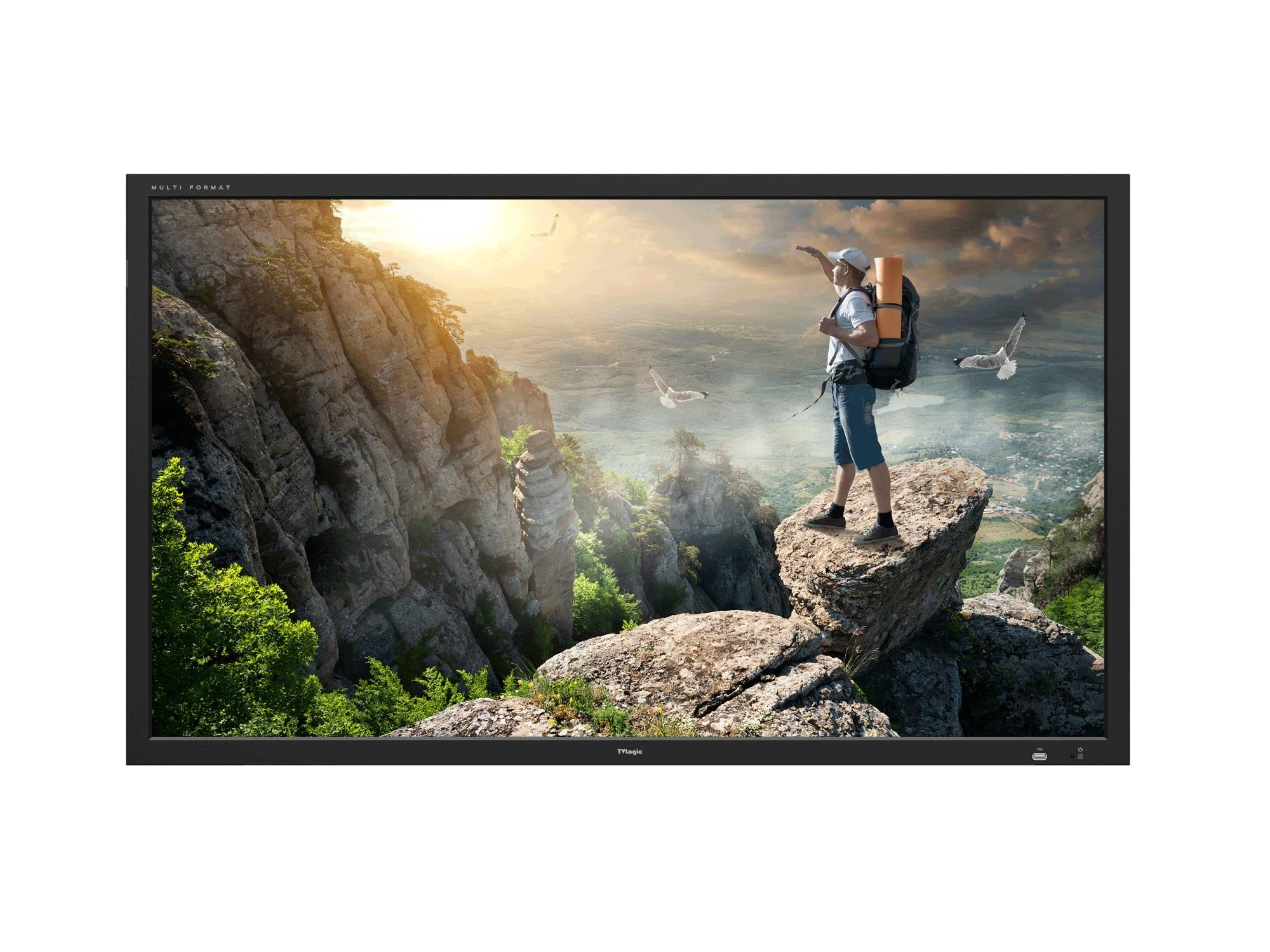 TVlogic SWM-550A 55 inch 1920x1080 (10-bit dithered) Studio Wall LCD Monitor