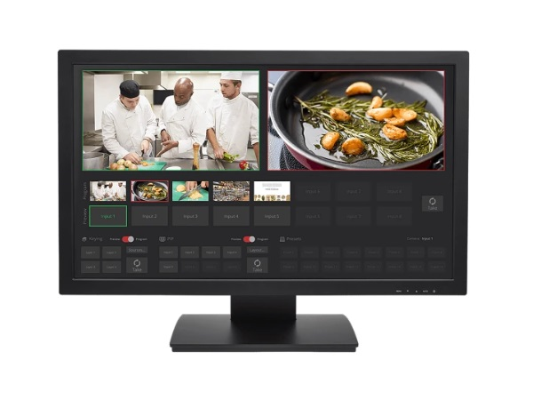 Vaddio 999-80000-027 TeleTouch 27 inch USB Touch-Screen Multiviewer