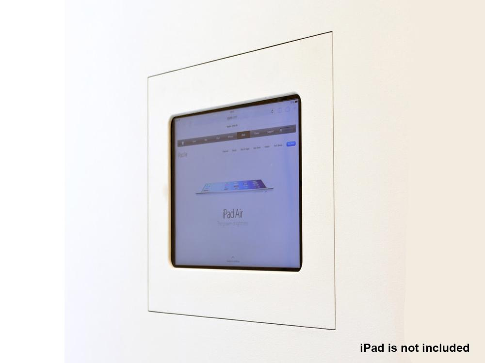 Wall-Smart 10-01-183 Hidden Covered In-Wall mount for iPad AIR/PRO 9.7 without Grills