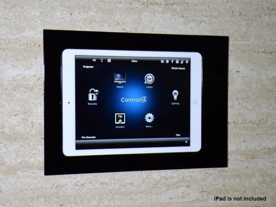 Wall-Smart 10-01-783-BL In-Wall Retrofit Mount for iPad/Black