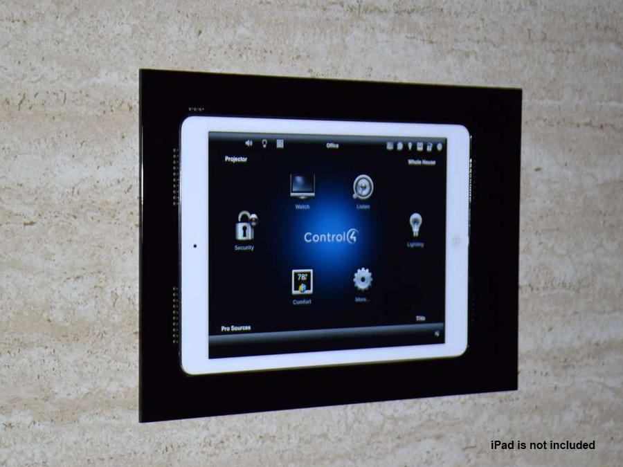 Wall-Smart 10-01-796-BL Retrofit In-Wall Mount for iPad Pro 10.5in/Black