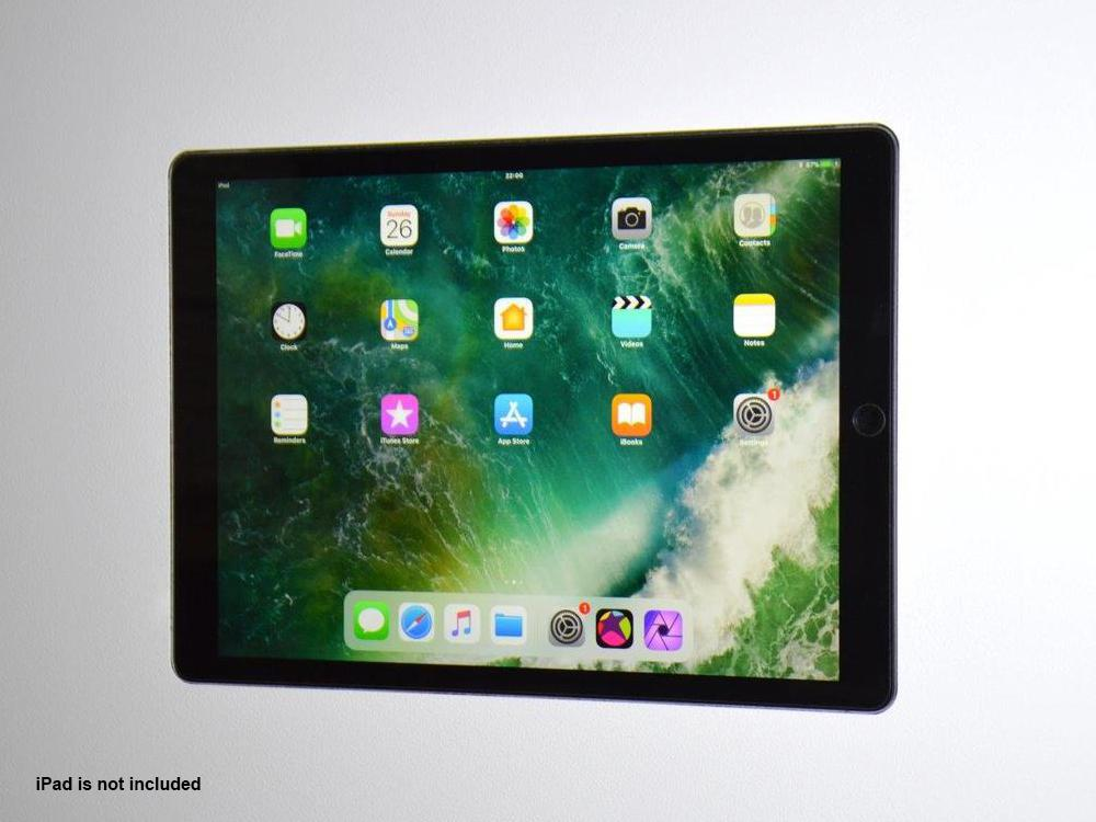 Wall-Smart 10-01-798-NG Invisible In-Wall Mount for iPad Pro 12.9in/No Grills