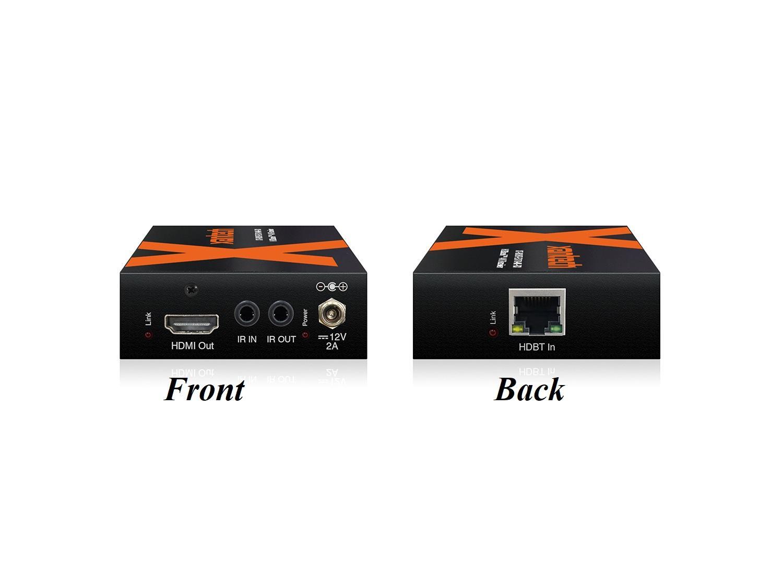 Xantech XT-HDBT-EX70-4K-KIT 4K HDCP HDMI/HDBaseT Extender (Transmitter/Receiver) Set with IR/RS-232/PoH up to 40m