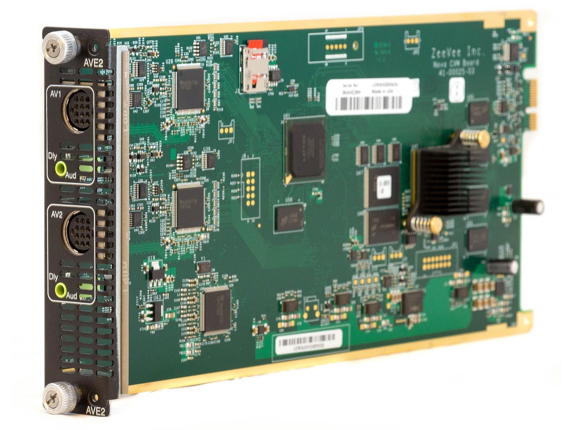 ZeeVee 3KAVE2RH Component/VGA Media Module Blade HD video encoder/modulator up to 1080i/1080p for HDbridge3000