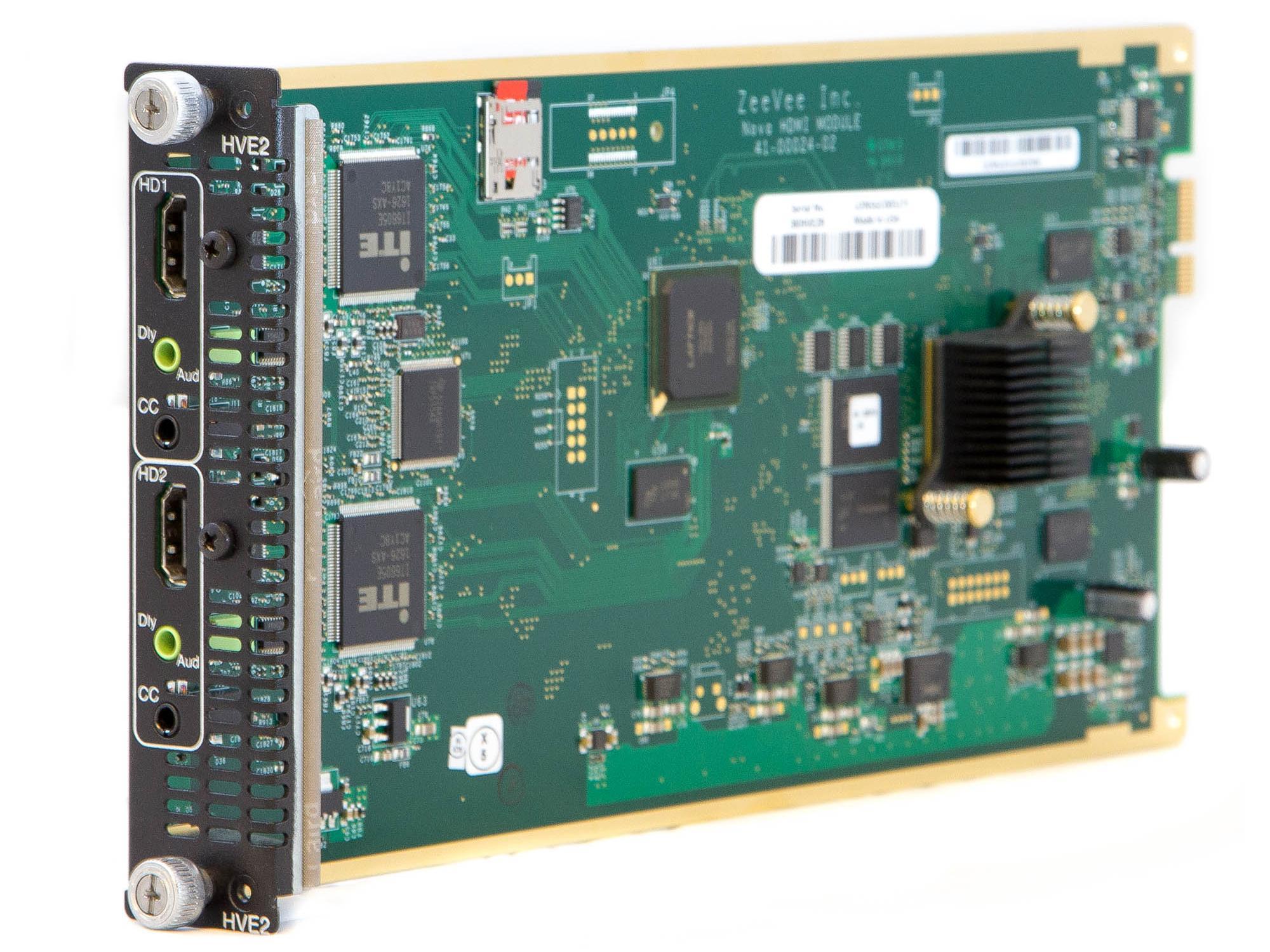 ZeeVee 3KHVE2I Unencrypted HDMI RF/IP Media Module HD video encoder/modulator for HDbridge3000