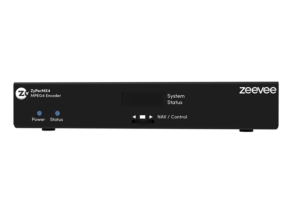 ZeeVee ZMXENC4 ZyPerMX4 Quad HDMI 1.4 Channel H.264 Encoder