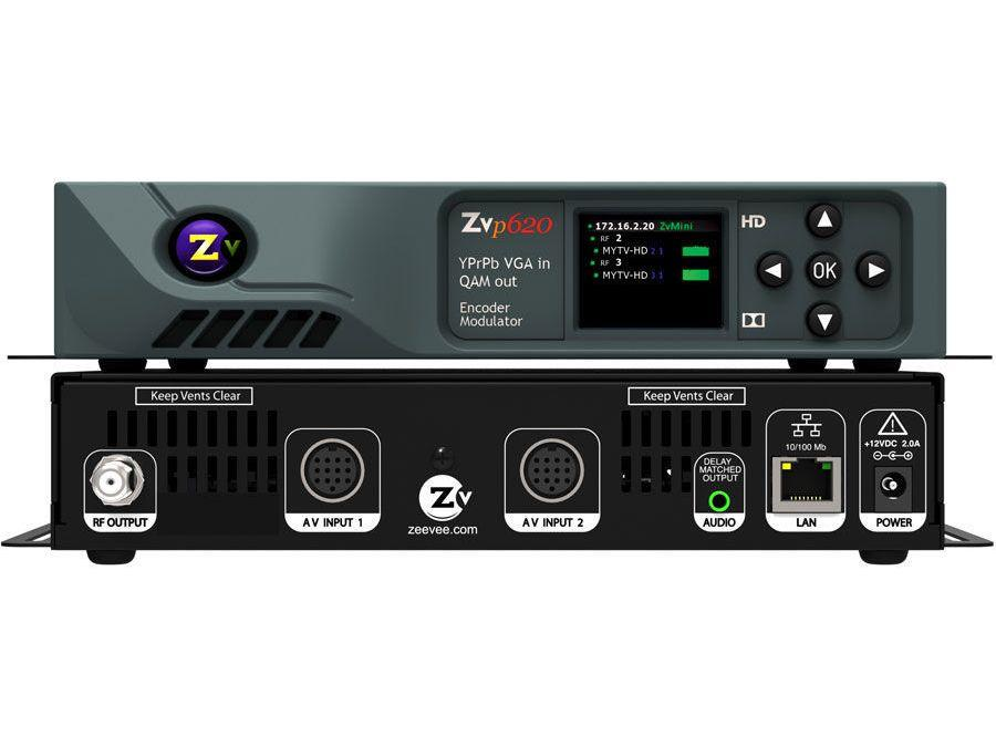 ZeeVee ZVPro620-NA VGA/RGB/YPrPb HD Video Distribution over Coax (Dual Channel)