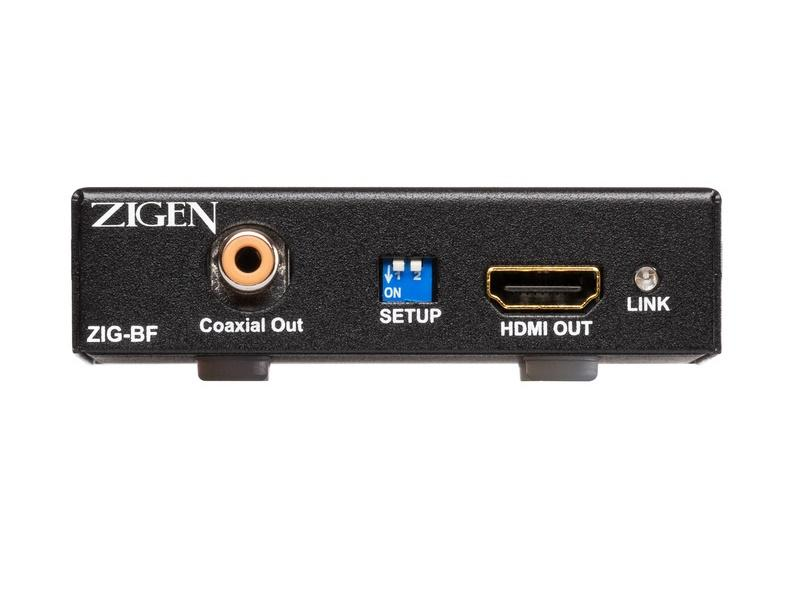 Zigen ZIG-BF HDMI 2.0/HDCP 2.2 Corrector and Advanced EDID Manager w WebOS Interface