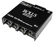 Rolls Audio power amplifiers and digital audio splitters
