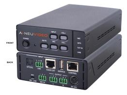 A-NeuVideo ANI-AD100 100W Amplifier with LR/Optical/Microphone/CATx and built-in Mixer