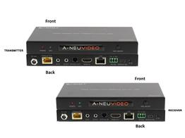 A-NeuVideo ANI-HDR200 HDR 4k 60Hz 18Gbps HDMI Extender with ARC (Transmitter/Receiver) Kit Over CAT6 328ft (100M)