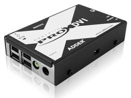Adder X-DVIPRO-US DVI and 4-port USB Extender over two CATx cables