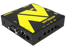 Adder ALAV201R-US Full HD VGA digital signage extender (Receiver) with RS232/Audio/skew
